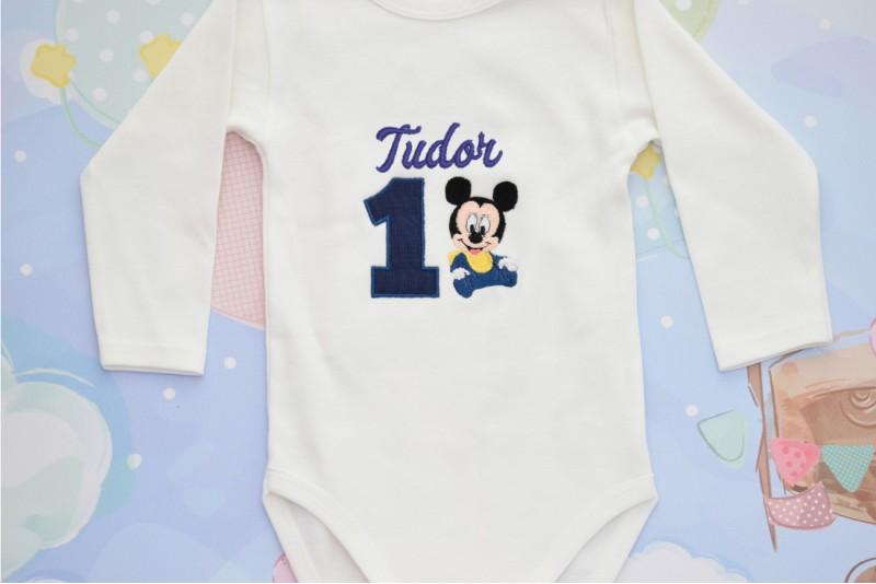 Body Personalizat Baby Mickey Mouse