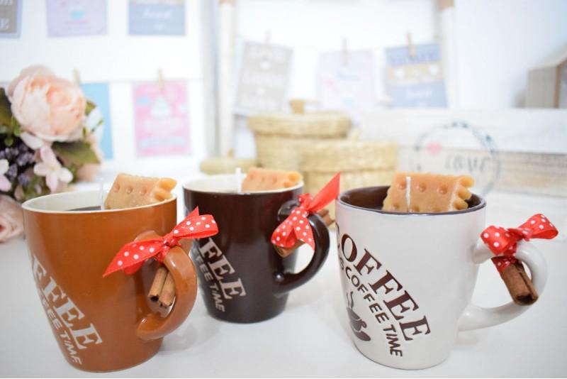 Lumanare decorativa parfumata Cafea