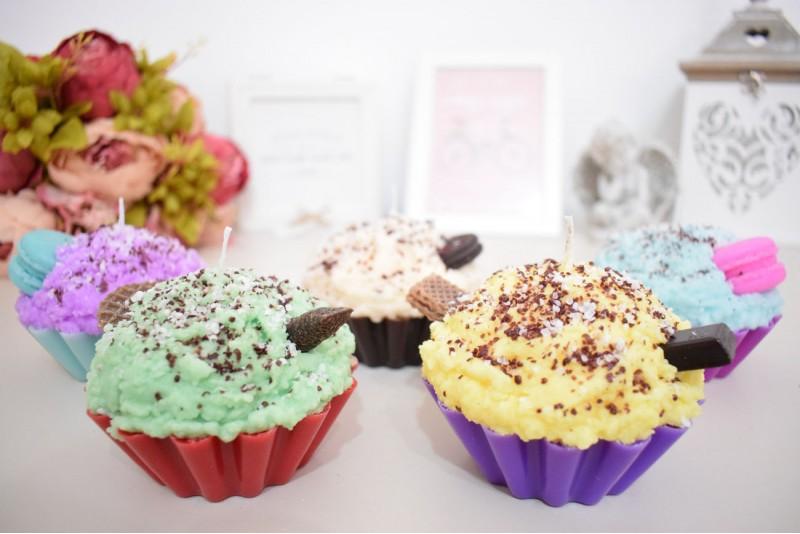 Lumanare Cupcake