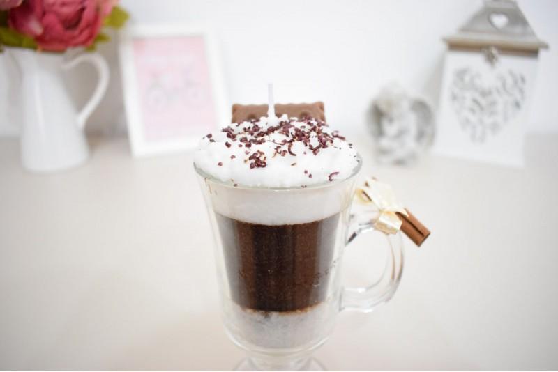 Lumanare decorativa parfumata Latte Macchiato