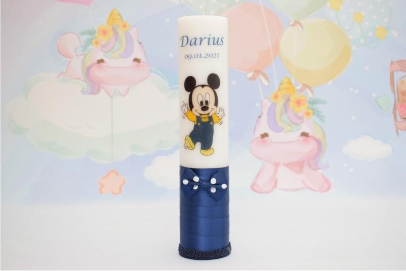 Lumanare Botez Baby Mickey Mouse
