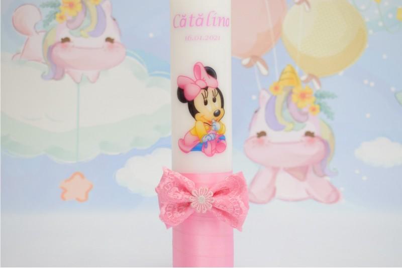 Lumanare Botez Baby Minnie Mouse