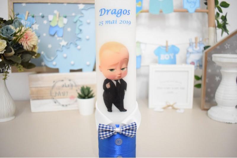 Lumanare botez Little Boss Baby