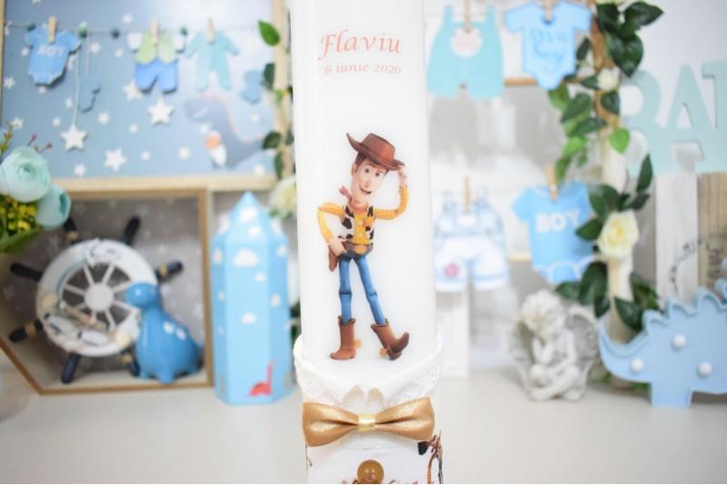 Lumanare botez Toy Story