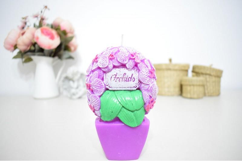 Lumanare Orhidee