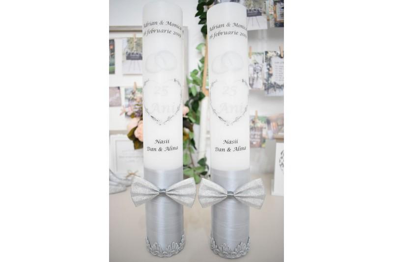 Lumanari nunta de argint