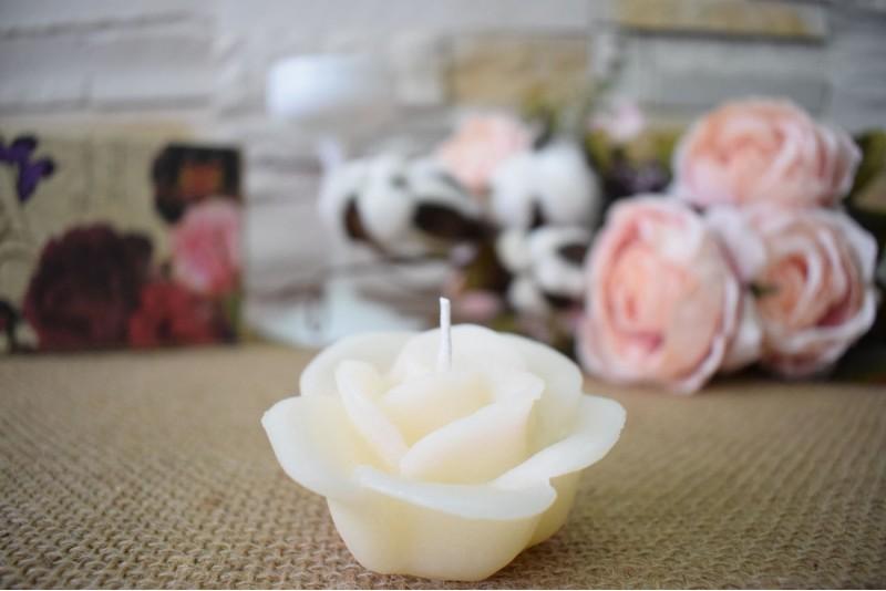Marturie nunta lumanare trandafir