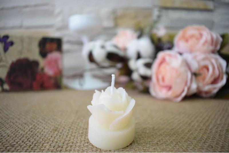 Marturie nunta lumanare trandafiras boboc