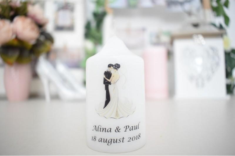 Marturie nunta lumanare cilindru personalizat 01
