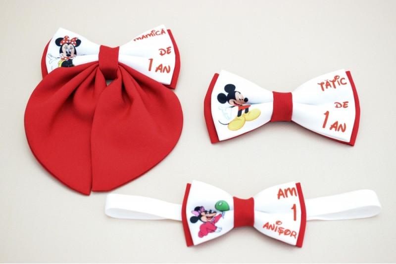 Papioane Personalizate Minnie si Mickey Mouse