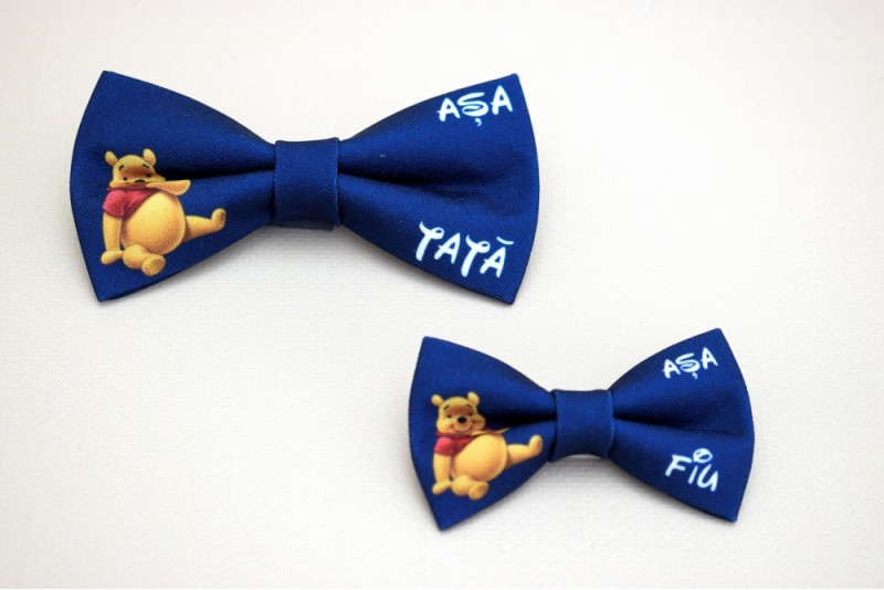 Set Papioane Tata si Fiu Winnie the Pooh