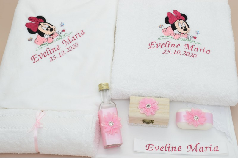 Trusou botez Bebe Minnie Mouse
