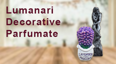 lumanari decorative parfumate